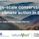 Large-scale conservation and climate action in the U.S.